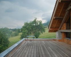 Lab Architectes - Cognin - Réhabilitations : granges, tour carrée militaire, ... - Réhabilitation d'une grange : Avant Pays Savoyard