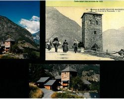 Lab Architectes - Cognin - Réhabilitations : granges, tour carrée militaire, ... - Réhabilitation d'une tour militaire à St Jean de Maurienne