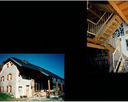 Lab Architectes - Cognin - Réhabilitations : granges, tour carrée militaire, ... - Réhabilitation d'une grange : au col de Couz-Savoie