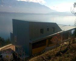 Lab Architectes - Cognin - Réhabilitation et extension : Chambres d'hôtes + Habitat - Maison à Bourdeau
