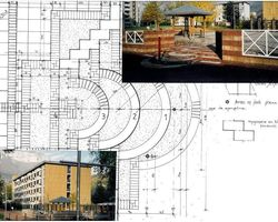 Lab Architectes - Cognin - Réalisations publiques -  Qualification des espaces publics du Clos Gaillard