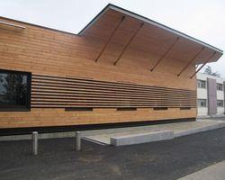 Lab Architectes - Cognin - Réalisations publiques - Centre Hospitalier Yves Touraine à Pont de Beauvoisin (Isère)