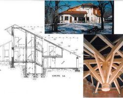Lab Architectes - Cognin - Maisons bioclimatiques - Maison au col d'Evires (haute savoie)